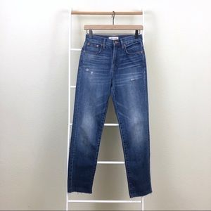 Madewell High Rise Blue Denim Perfect Vintage Jean